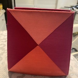 Yves Saint Laurent YSL 1980s Vintage Geometric Bag